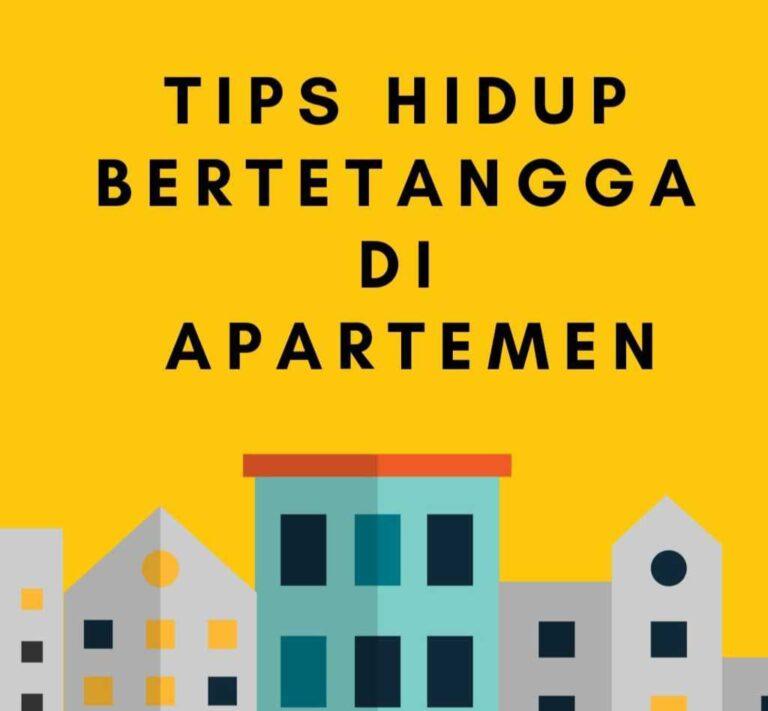 memilih apartemen sebagai hunian
