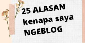 alasan ngeblog