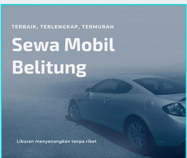 sewa mobil murah di belitung