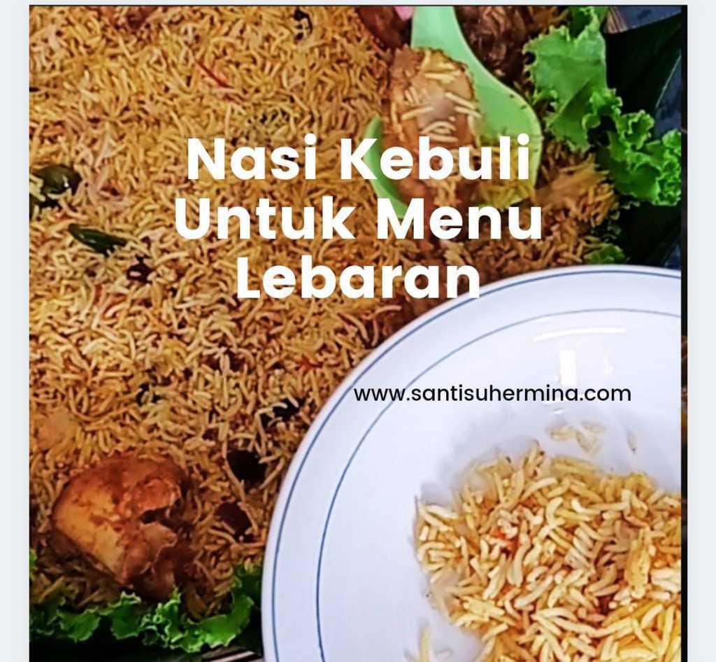 menu lebaran